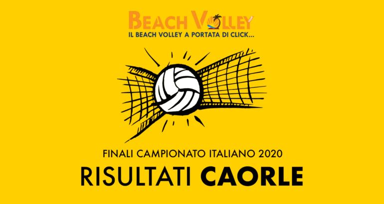 risultati caorle campionato italiano 2020
