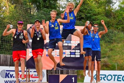 Europei under 20 Brno: Bronzo per Dal Corso/Viscovich. Settime Bianchi/Ditta