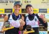 World Tour 1 star: A Vilnius è oro nel femminile per Scampoli/Bianchin. Bronzo tra gli uomini per Marchetto/Di Silvestre