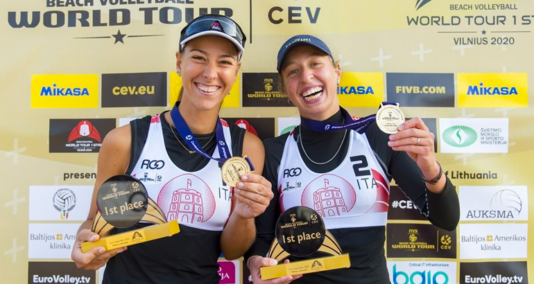 World Tour, a Vilnius successo di Claudia Scampoli e Margherita Bianchin