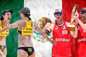 Cancun Hub 1° evento: A Mol/Sørum il torneo maschile. Nel femminile successo delle brasiliane Talita/Taiana Lima
