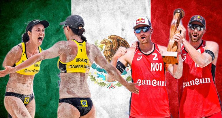 I vincitori del primo evento di Cancun 2021