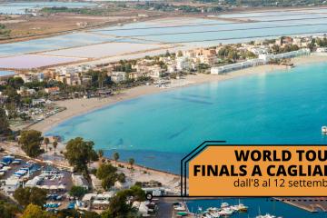 Le World Tour Finals a Cagliari dall'8 al 12 settembre