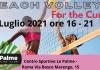 """Sabato 17 luglio al centro """"Le Palme"""" 2×2 M&F e 3×3 misto contro il tumore al seno con Beach Volley For The Cure"""
